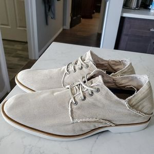 Sperry topsider canvas oxfords size 13